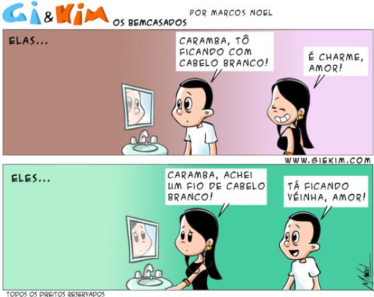 Bem Casados Tirinha 0399